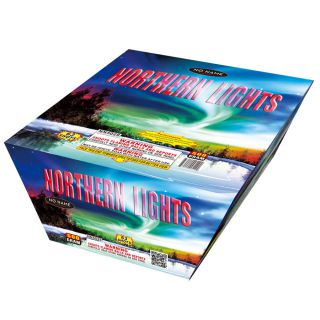 500 Gram Cakes Fireworks by NO NAME NN5029 Northern Lights