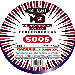 Thunder Bomb Firecracker | 500 Count Roll By No Name Fireworks