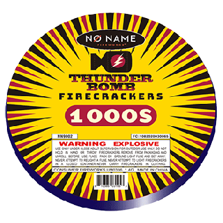 Thunder Bomb Firecracker | 16,000 Count Roll By No Name Fireworks
