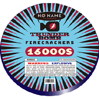 Thunder Bomb Firecracker | 100 Count Roll By No Name Fireworks